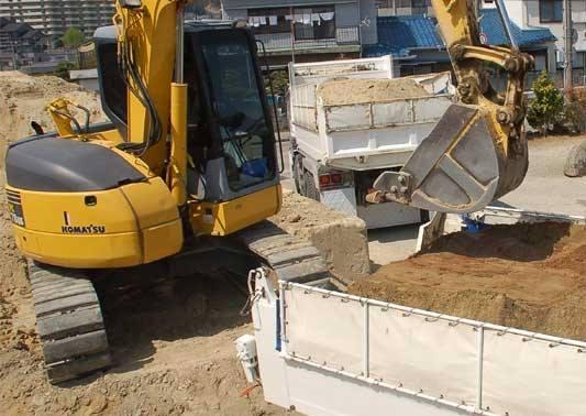 日本初の革新的な残土処分サービス【DANPOO】