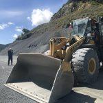 採石場に見学に行きました!